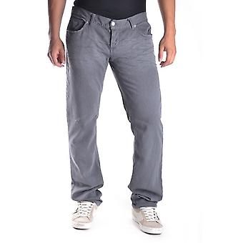 John Richmond Ezbc082003 Men's Grey Cotton Pants