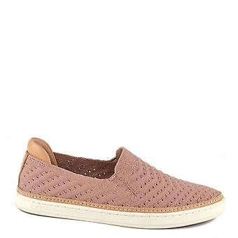 UGG Sammy Pink Dawn Knit Slip On Trainer