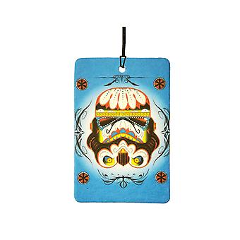 Sugar Skull Stormtrooper Car Air Freshener