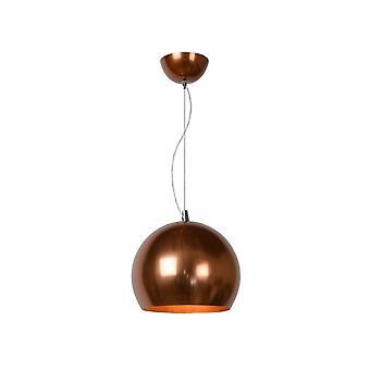Lucide Modern Copper Ceiling Pendant Light