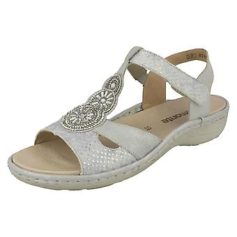 Ladies Remonte Slingback Sandals D7645