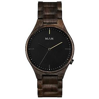 MAM Volcano Watch-trä brun/svart