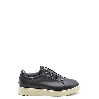 Liu Jo Ezbc086158 Dames's Black Leather Sneakers