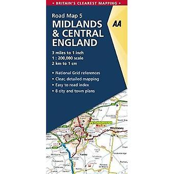 Midlands & Central England by AA Publishing - 9780749578930 Book