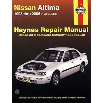 Nissan Altima Automotive Repair Manual - 93-06 by John H Haynes - Jeff
