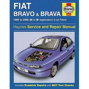 Fiat Bravo and Brava (1995-2000) Service and Repair Manual by A. K. L