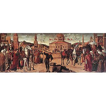 انتصار سانت جورج، فيتوري كارباتشيو، 80x30cm