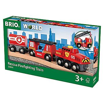 BRIO Rescue Fire trein