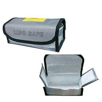 Fireproof Explosionproof Lipo Battery Safe Bag Lipo Battery Guard Safe Bag Pouch Sack for Charge & Storage 185 x 75 x 60 mm