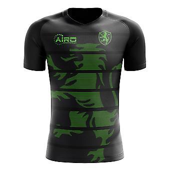 2020-2021 Sporting Lissabon Uit Concept Voetbalshirt