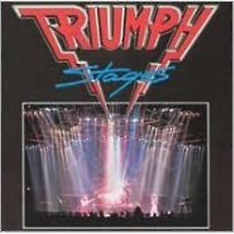 Triumph - Stages [CD] USA import