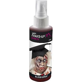 Spray Blood Pump Action Atomiser Rojo 28.3ml, Pintura facial/Maquillaje