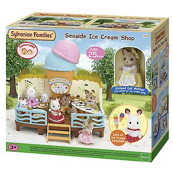 Sylvanian familier Seaside Ice Cream Shop sæt