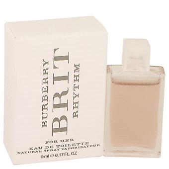 Burberry brit rhythm mini edt par burberry 533816 5 ml
