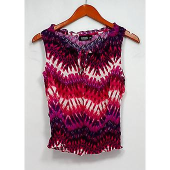 A.N.A. A New Approach Petite Top Sleeveless Printed Purple