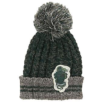 Harry Potter Slytherin Heathered Pom Beanie
