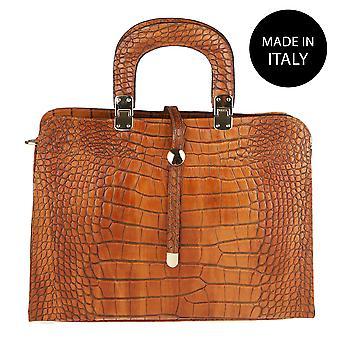 Handtasche aus Leder Italien 2130
