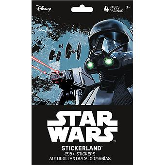 Stickerland Pad - Star Wars - Saga - 4 pages Toys Gifts Papery New st5211