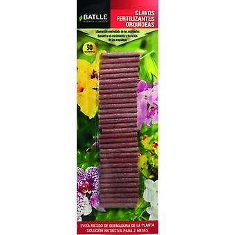 Batlle Fertilizer Nails Orchids (Garden , Others)