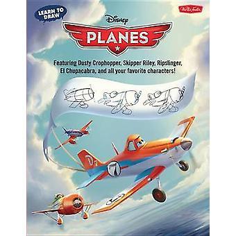 Learn to Draw Disney's Planes - Featuring Dusty Crophopper - Skipper R