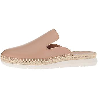 Calvin Klein Womens verie pebble Leather Closed Toe Mules
