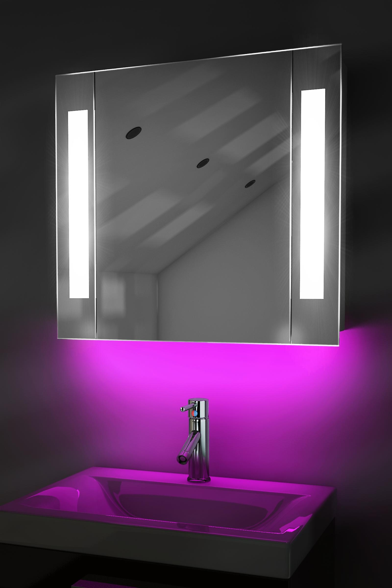 Ambient Audio Bathroom Cabinet With Bluetooth, Shaver & Sensor K17aud