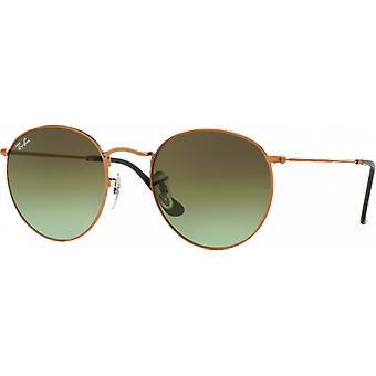 Ray-Ban Round Metal Bronze Green Degraded