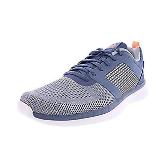 Reebok Womens pt prime run Fabric Low Top Lace Up Running Sneaker