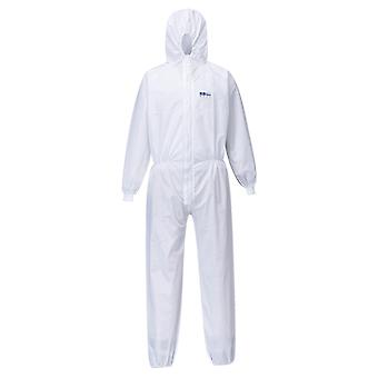 Portwest biztex sms coverall with knitted cuff type 5 / 6 st35 box of 50
