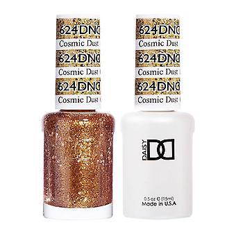 DND Duo Gel & Nail Polish Set - Cosmic Dust 624 - 2x15ml