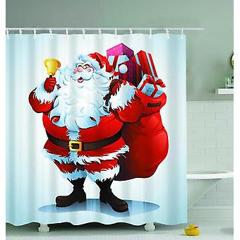 Santa Is Here! Shower Curtain