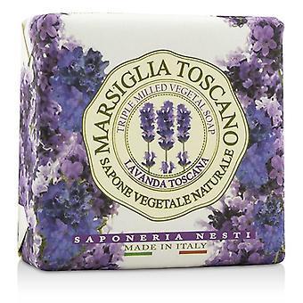 Nesti Dante Marsiglia Toscano trippel valset grønne Soap - Lavanda Toscana - 200g - 7oz