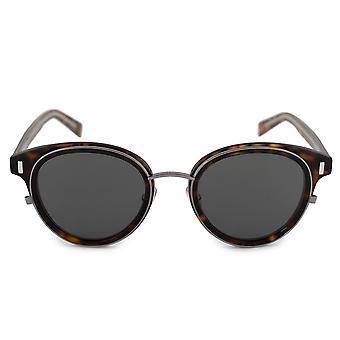 Lunettes de soleil rondes Christian Dior Black Tie OUX2K 50