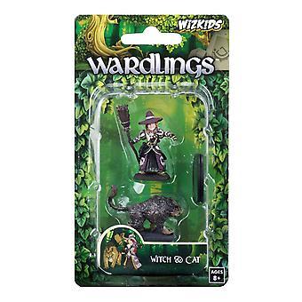 Wizkids Wardlings فتاة ساحرة والقط (حزمة من 6)