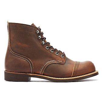 Red Wing Shoes Iron Ranger Mens Copper Boots