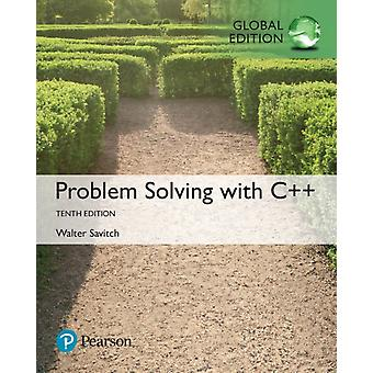 Problem Solving with C Global Edition by Walter Savitch