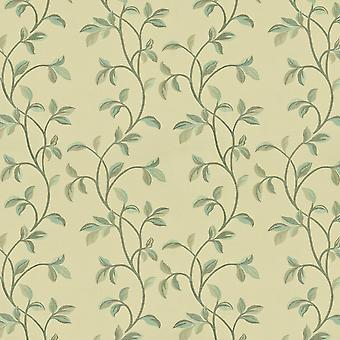 Mcalister textiles annabel floral oeuf de canard tissu bleu