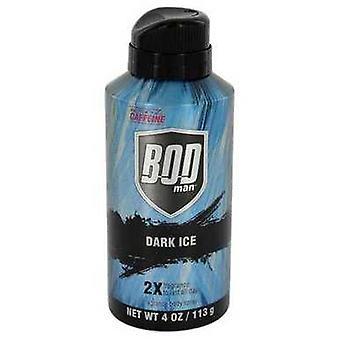 Bod man Dark Ice door parfums de Coeur lichaam Spray 4 oz (mannen) V728-541758