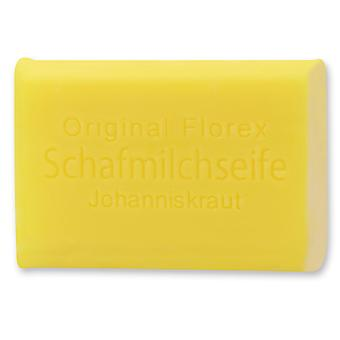 Florex sheep's milk soap - St. John's wort - delicate fragrance that lifts the mood and nourishes the skin 100 g