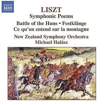 F. Liszt - Liszt: sinfoninen runoja [CD] USA tuonti