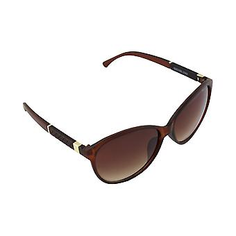 Sunglasses UV 400 Oval Gold Brown 2583_42583_4