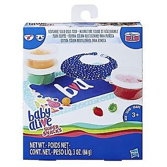 Baby levend Super Snacks herbruikbare solide Doll voedsel Refill Pack