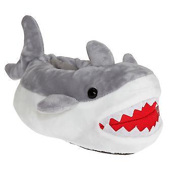 Slumberzzz Kids Shark Slippers