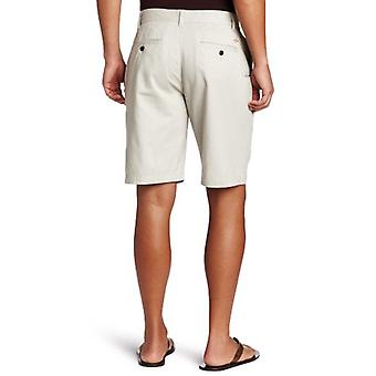 Dockers Men's Classic Fit Perfect Short, Porcelain Khaki, Beige, Size 34