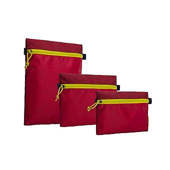 Crumpler Zippie Pouch Organisator diep rood/geel