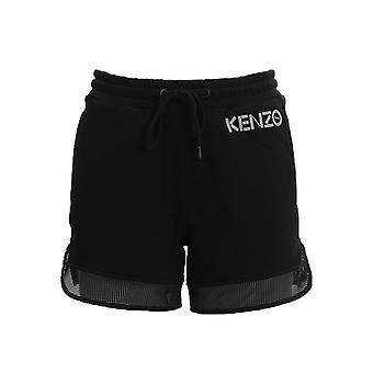 Kenzo Fa52pa71995299 Women's Black Cotton Shorts
