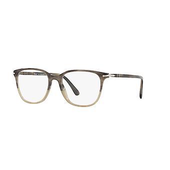 Persol PO3203V 1065 Stripped Grey Beige Gradient Glasses