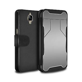 STUFF4 PU Leather Wallet Flip Case/Cover for OnePlus 3/3T/Defense/Armour/Armor