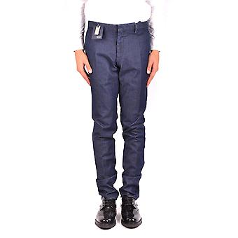 Incotex Ezbc093063 Men's Blue Cotton Jeans