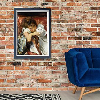 John Singer Sargent - Portrait of a Child Poster Print Giclee